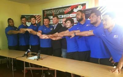 Timișoara Saracens se întărește pentru 2016 cu încă 7 jucători
