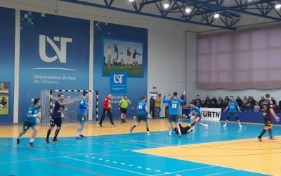 Victorie după victorie: handbaliștii au obținut al șaselea succes în Liga Zimbrilor