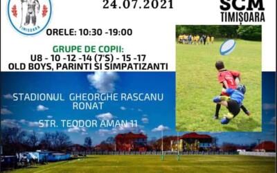 SCM Timișoara, partener la Memorialul Cristi Breb & Chester Williams