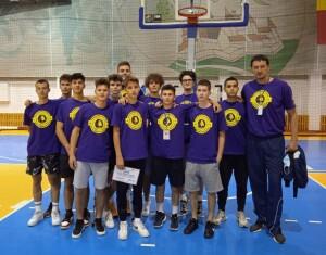 SCM Timișoara U16 turneul final mai 2021