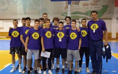 Colaborare în patru, în baschetul juvenil din Timișoara